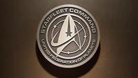 star trek Starfleet command plaque USS Enterprise