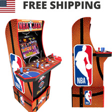 Nba Jam Arcade Cabinet Retro Arcade 1Up Light Up Marquee Arcade Machine Wi Fi