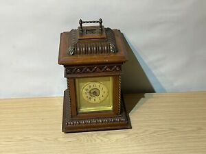 Rare Antique (Junghans?) Symphonion Musical Clock inc 2 x Discs - Restoration