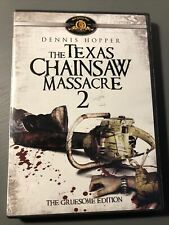 The Texas Chainsaw Massacre 2: Gruesome Edition Dvd Tobe Hooper 1986 horror