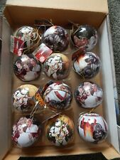 Boxed Set of 12 Star Wars Xmas Tree Baubles  candy planet