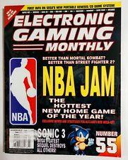 EGM ELECTRONIC GAMING MONTHLY 55 FEB 1994 Sonic 3/NBA Jam/Sega CDX/Philips CDi