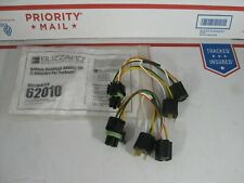 BLIZZARD PLOW OEM HEADLIGHT ADAPTER HARNESS KIT PART# 62010 FOR SOME 2B 2D HB2