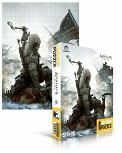 "Assassin's Creed 3: Puzzle 1000 pezzi ""Connor"" N.1 1000 pz (70 X 50 Cm.) Sailed."