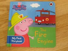 "PEPPA PIG THE ENGINE 7"" FIRE STORY Board MY FIRST LIBRO"