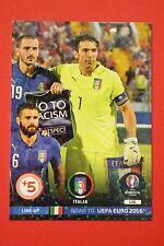 ADRENALYN ROAD TO EURO 2016 ITALIA LINE-UP 126  MINT!!!!