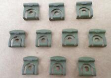 10 NOS REAR WINDOW MOULDING CLIPS! - 65-69 FORD OR MERCURY C5A6-242413-A 4711SX