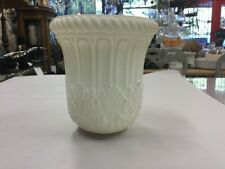 VICTORIAN FRENCH EGGSHELL GLASS WHITE LAMP OIL KERO SHADE GASOLIER VERY WALL