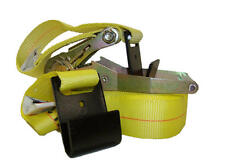 "2"" x 27' Ratchet Tie Down Cargo Strap with Flat Hooks *Case of 10*"