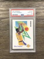 1991 Skybox Elden Campbell Rookie PSA 10 RC #133
