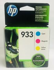 HP GENUINE 933 Color Ink 3-PACK (NO RETAIL BOX) for OFFICEJET 6600