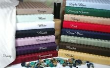 1000 TC EGYPTIAN COTTON 4 - PC FULL SIZE BED SHEET SETS ALL STRIPED COLORS