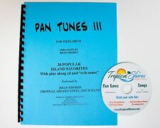 """Steel Drum Play Along Book """"Pan tunes 3"""""""
