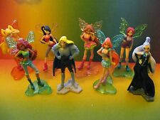 WINX  complete set with  paper   KINDER  SURPRISE  EGG  EUROPE
