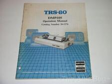 Radio Shack TRS-80 DMP-105 Printer Operation Manual ~ Catalog Number 26-1276