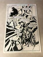 NIGHTMARE #3 original art KILL ME SPLASH 1994 MARVEL DR STRANGE villain 1994
