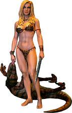 "SHANNA THE SHE-DEVIL - Shanna The She-Devil 17.75"" Statue (Gentle Giant) #NEW"