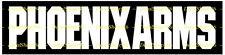 PHOENIX ARMS - Hunting/Outdoor Sports - Vinyl Die-Cut Peel N' Stick Decals