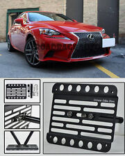 For 16-Up Lexus IS200T Front Bumper Tow Hook License Plate Adapter Mount Bracket