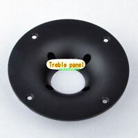 2pcs Tweeter panel Tweeter mounting plate Fixing the decorative plate tweeter