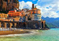 ATRANI AMALFI COAST ITALY NEW A4 POSTER GLOSS PRINT LAMINATED