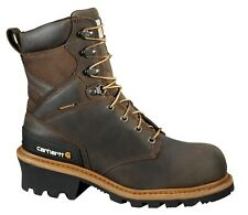 "Carhartt CML8360 Men's 8"" Composite Toe Climbing Work Boots Leather Shoes"