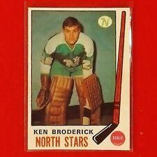 Ken Broderick - 1969/70 - O-Pee-Chee - Minnesota North Stars - Blank Back Proof