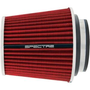 SPECTRE 4in Inlet Cone Filter Red 6.75in Long P/N - SPE-8132