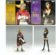 Banpresto One Piece Memories of Merry 2 Robin + Sogeking (come nuovi con box)