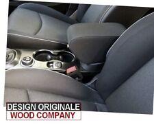 bracciolo per Fiat 500X tessuto nero Alta qualità DESIGN ORIGINALE WOOD COMPANY