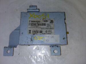 2008-2011 Cadillac STS Satellite Radio Receiver 20942555