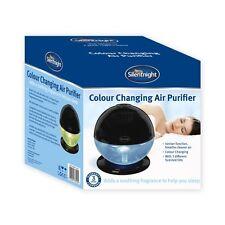 Silentnight Air Purifier Freshener Ioniser Revitaliser Colour Changing LED Light