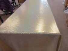Gold Holographic Table cloth 110 x 220cm
