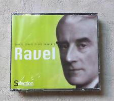 """CD AUDIO MUSIQUE INT/ COFFRET 4XCD GRANDS COMPOSITEURS FRANÇAIS """"RAVEL"""" NEUF NEW"""