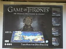 Game of Thrones 4D Puzzle Jigsaw Westeros & Essos BNIB
