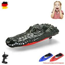 RC ferngesteuertes Krokodil-Boot für lustige Pranks, Modell mit Akku und 2.4GHz
