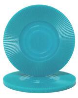 Buy 2 Get 1 Free 50 Light Blue Interlocking Radial 2g Plastic Poker Chips New