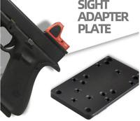 Universal Sight Mount Plate for Glock RMR Vortex Burris Red Dot Sight Pistol