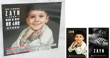 ZAYN MIND OF MINE 2016 Taiwan CD+2 stickers w/BOX (14-trk) One Direction