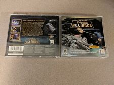 STAR WARS X-WING ALLIANCE PC WINDOWS GAME MINT CONDITION COMPLETE!