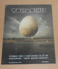 Wolfmother Cosmic Egg Poster Original 2009 Promo 18x24