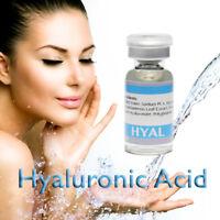HYALURONIC ACID Treatment serum Titanium Microneedle Derma Roller Stamp Skincare