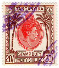 (I.B) KUT Revenue : Tanganyika Stamp Duty 20/-