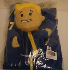 New! Limited Edition Fallout Vault Boy 77 Hoodie & Hand Puppet Set [Size: XXL]