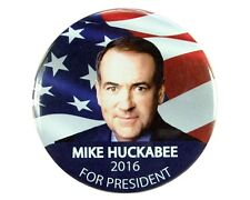 "2016 MIKE HUCKABEE for PRESIDENT 2.25"" CAMPAIGN BUTTON, mhf"