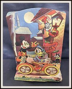 ⭐ Donald Mickey Mouse DISNEY 'S WORKING MODEL - Williams 1938 - DISNEYANA.IT ⭐