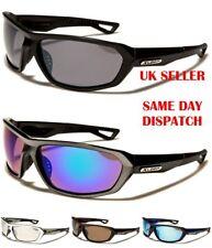 Sport XLOOP Mens Womens Boys Rectangle Wrap Mirror Sunglasses 100%UV400 2562