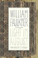 Light in August (Modern Library) by William Faulkner Hardback Book The Fast Free