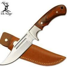 Elk Ridge Hunting Knife with Genuine Leather Sheath