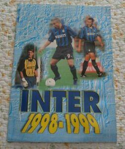 INTER 1998 - 1999  DI ROBERTO COLASUONNO EDIZIONE A.P.I.1998